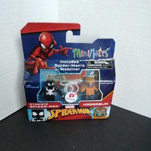 Marvel Minimates Symbiote Spider-man vs Hobgoblin